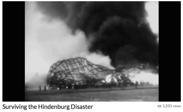 Surviving the Hindenburg Disaster